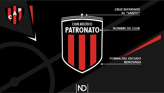 Un diseñador gráfico rediseñó los escudos de los clubes de Primera