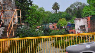 Zonas históricas. Las casas aledañas a los arroyos y en barrios más humildes sintieron la lluvia.