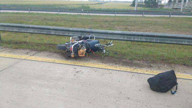 Nueva muerte en la autovía Artigas: Motociclista falleció este viernes tras un accidente