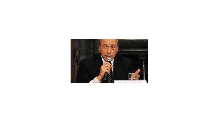 Opositor. El exmiembro de la Corte reconoció que no comparte nada del gobierno de Macri.