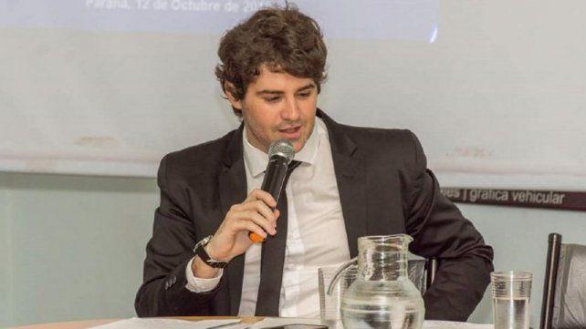 Álvaro Gabás es el nuevo secretario de la Producción de Entre Ríos