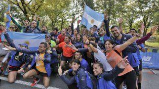 Atletas correrán el maratón de Nueva York con camisetas argentinas