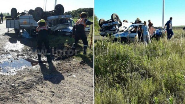 Una persona falleció tras colisionar dos vehículos en el ingreso a Ingeniero Sajaroff