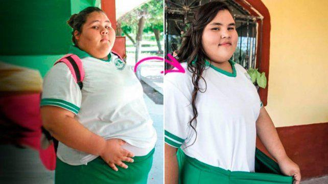 México: una adolescente bajó 90 kilos para su fiesta de 15