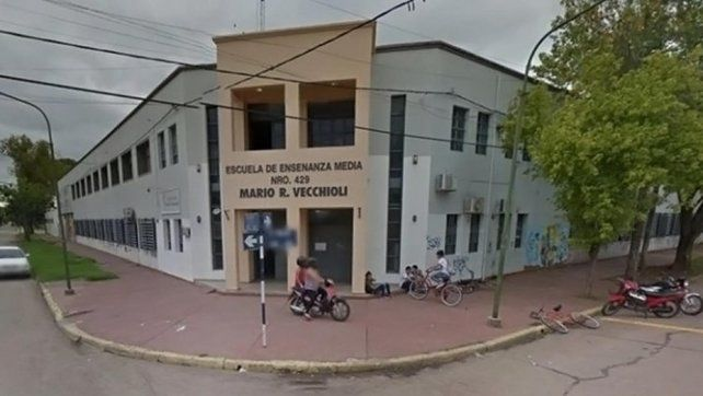 La escuela de Rafaela.