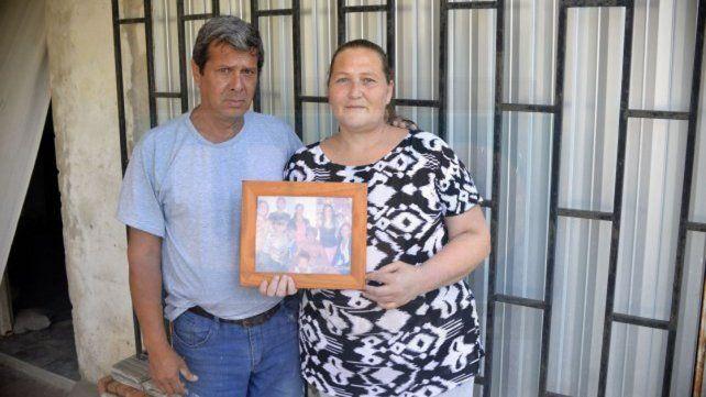 Orgullo. Romina hizo todo por sus hijos y levantó su casa a pulmón