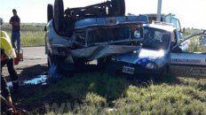 un tragico accidente se cobro la vida de un hombre y dejo otras ocho personas graves