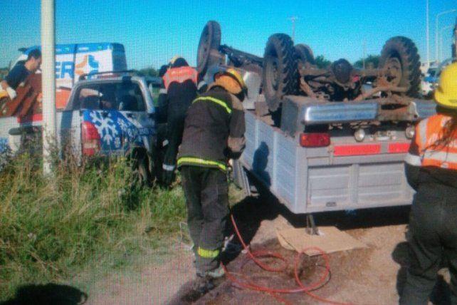 Un trágico accidente se cobró la vida de un hombre y dejó otras ocho personas graves