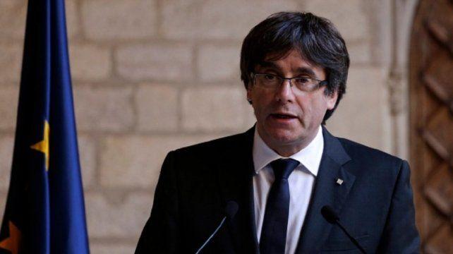 Se entregó Puigdemont, el ex presidente de Cataluña