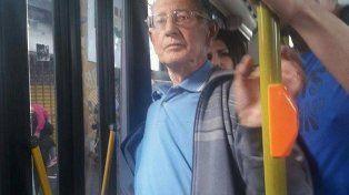 El hombre fue denunciado al bajar del colectivo.