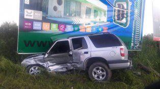 Por Salellas. La camioneta transitaba hacia Paraná