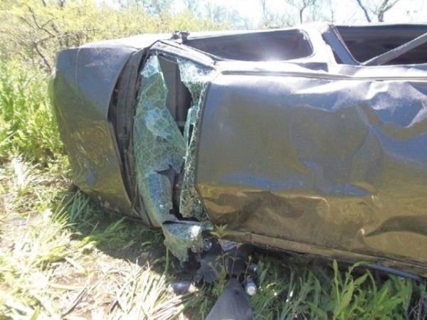 Tres heridos en un vuelco en la ruta nacional 127