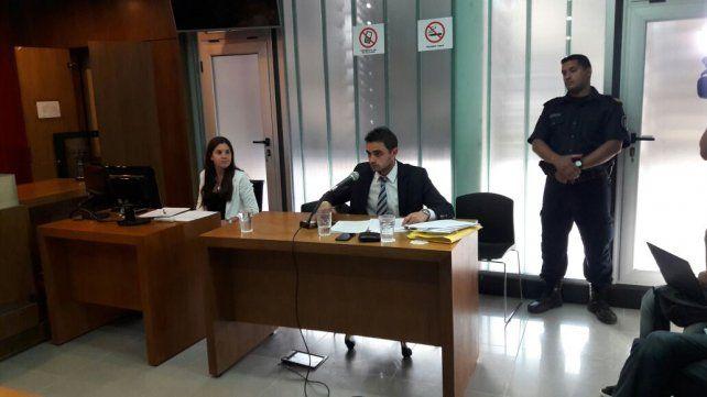 La defensa. El abogado de Vitali rechazó algunos puntos de los cuestionamientos del los fiscales. Foto UNO Marcelo Medina.