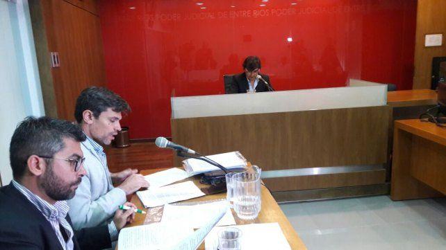 Pedido de condena. Los fiscales adelantaron que reclamarán cómo mínimo 11 años de cárcel. Foto UNO Marcelo Medina.