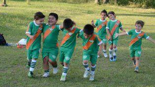 La escuelita El Taladro prepara el tercer encuentro de fútbol infantil