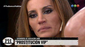 natacha jaitt hablo de la prostitucion vip y conto su experiencia