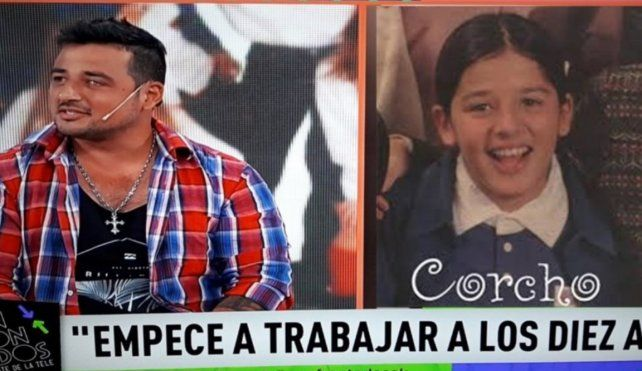 El drama de Corcho, ex Chiquititas