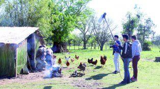 Producción. Se recreó el rancho donde la familia Muñoz vivía finales de la década del 60.