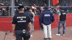 Familia. La mujer de Arrúa, arrestada en plena calle de Posadas.
