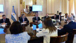 Primera evaluación. El gobernador entrerriano dejó abierto el diálogo para lograr el consenso.