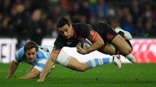 Los Pumas cayeron frente a Inglaterra en Twickenham