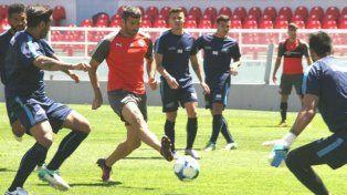 Independiente festejó en un amistoso ante libres