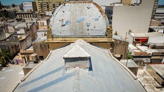 INTERVENCIÓN. Los trabajos comprenden el recambio del techo.