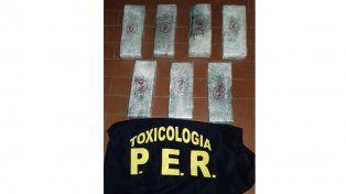 Allanaron kioscos de droga en Concordia y a un preso vinculado