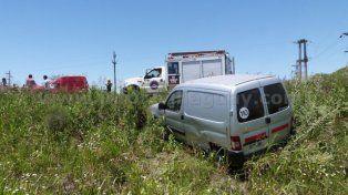 Grave accidente en Ruta 18: Cuatro heridos tras choque entre tres vehículos