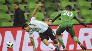 Cachetazo inesperado para Argentina ante Nigeria