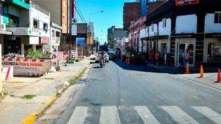 Comenzó el ensanche de calle Corrientes: Restringen el tránsito en la zona