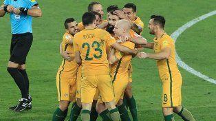 Australia clasificado al Mundial, Perú y Nueva Zelanda van por el último boleto