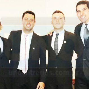 Rodrigo Aldana (LPF); Maximiliano Clauss (Liga de Gualeguaychú); Alexis Caisso (LPF) y Sergio Vergara Miño (Liga de Nogoyá) los nuevos árbitros nacionales de la provincia.