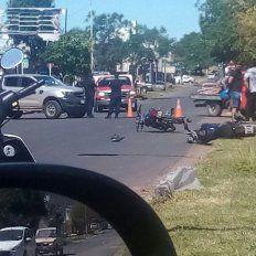 Maniobra imprudente. Se estimó desde la Policía que el conductor de la Ranger provocó el incidente.
