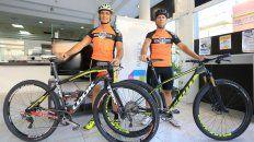 Un buen andar. Los bikers paranaenses Juan Lui y Leandro Pasgal demostraron durante la temporada un gran nivel arriba de la bicicleta, algo que esperan repetir durante los próximos desafíos que afrontarán.