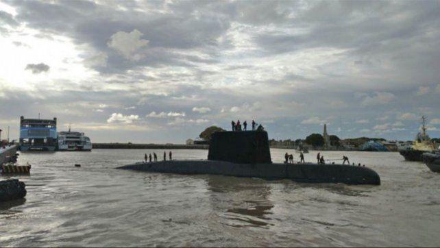 La Armada informó que no hay indicios de que el submarino se haya hundido