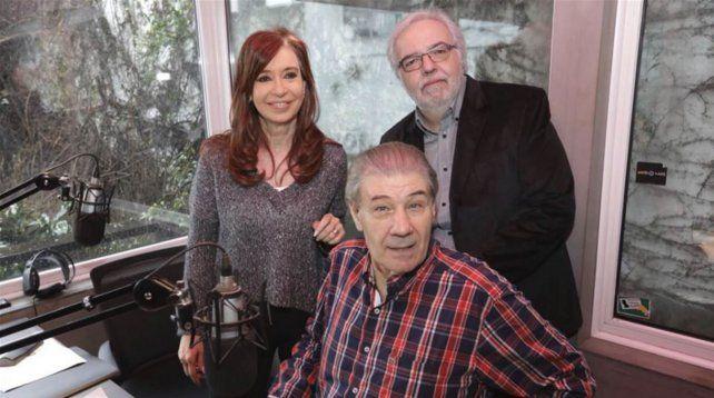 Cristina Kirchner se solidarizó con Víctor Hugo Morales: Se consolida el apagón informativo