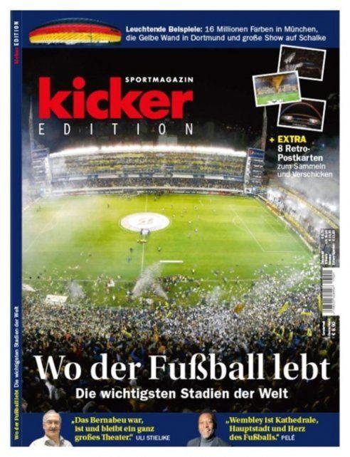 La Bombonera fue elegida como la cancha más importante del mundo por una revista alemana