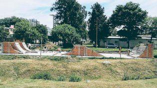La vista del parque en un terreno recuperado. Foto Gentileza Sebastián Rodríguez.
