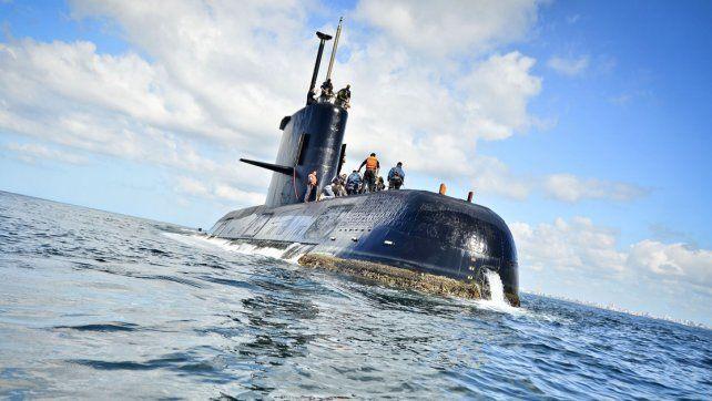 Se amplió la búsqueda del submarino ARA San Juan, perdido en aguas del Atlántico sur