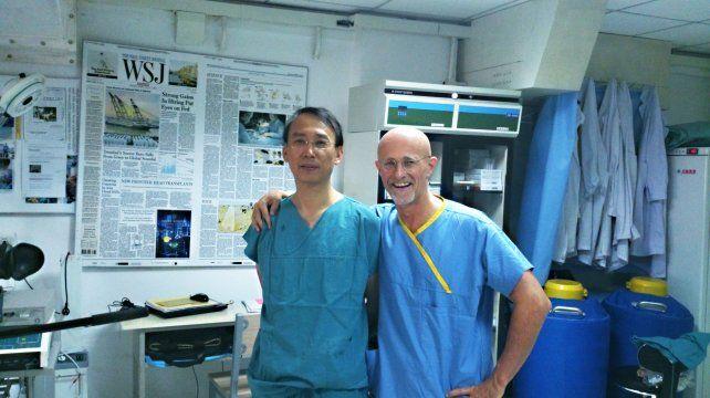 Realizaron con éxito el primer trasplante de cabeza