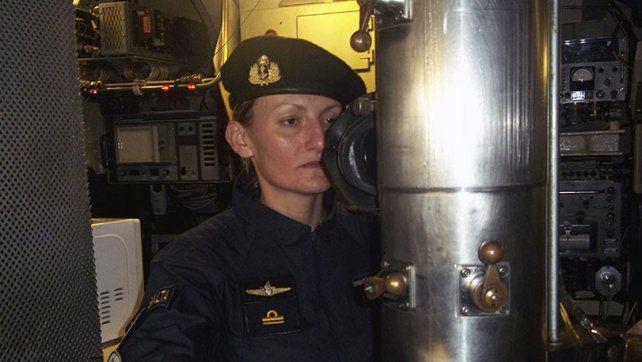 Quién es la única mujer a bordo del ARA San Juan