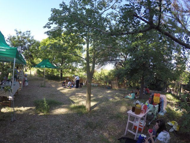 El aula verde de la Tribu del Salto. Foto UNO.