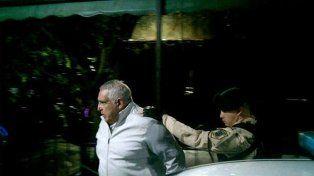 Al penal. Medina fue procesado por varios hechos de corrupción y amenazas.