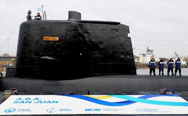 historia. El submarino ARA San Juan fue entregado a la Armada Argentina tras su reparación de media vida entre 2008 y 2014 en el Cinar.