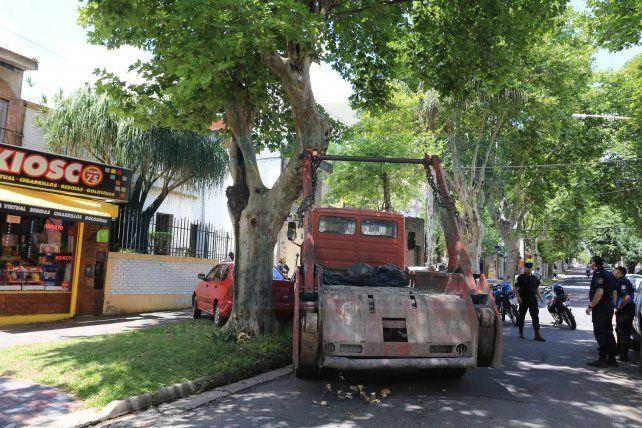 Insólito accidente en calle Pascual Palma