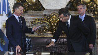 Entrerriano al gabinete. El dirigente de Paraná cuenta con el respaldo de sectores productivos.