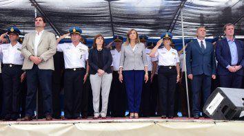 Punto estratégico. Las autoridades marcaron el trabajo conjunto de la Nación con la provincia.