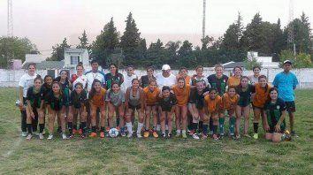 en la sede de la lpf se presenta el seleccionado femenino de futbol