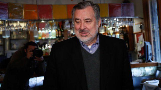 aVAL. Guillier recibió el apoyo del partido Demócrata Cristiano.